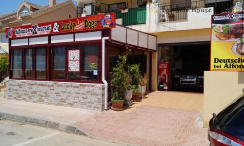 Te-Koop-Restaurant-Met-Tuc-Tuc-Verkoopwagen -Puerto de Mazarron