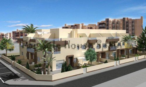 1e-lijns-Stijlvolle-duplex-woningen-op-enkele-meters-van-zee-La-Manga-del-Mar-Menor
